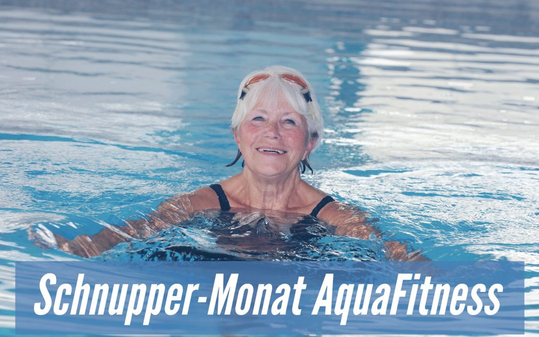 AquaFitness-Schnuppermonat