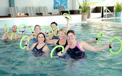 Unser AquaFitness Team auf der Aquapäd 2018