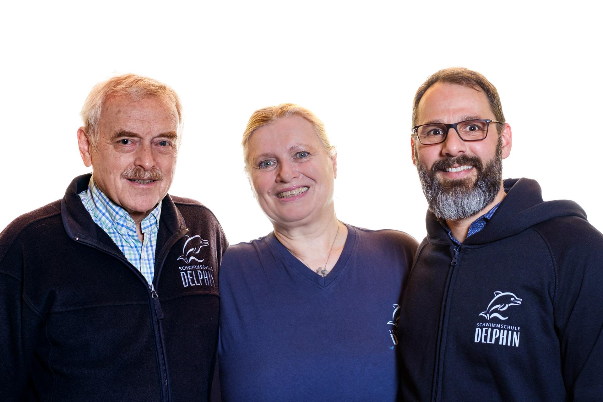 Sue und Uwe Legahn und Christian Zwengel