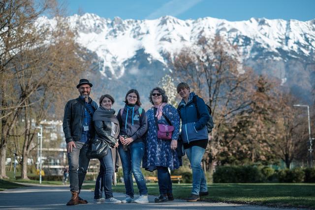 Wir waren auf der Babyschwimmkonferenz in Innsbruck im April 2019