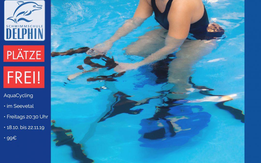 Noch Plätze frei beim Aquacycling im Seevetal